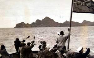 Adieux à l'île de Dùn, évacuation de 1930. Projet, Musique, écriture, théatre