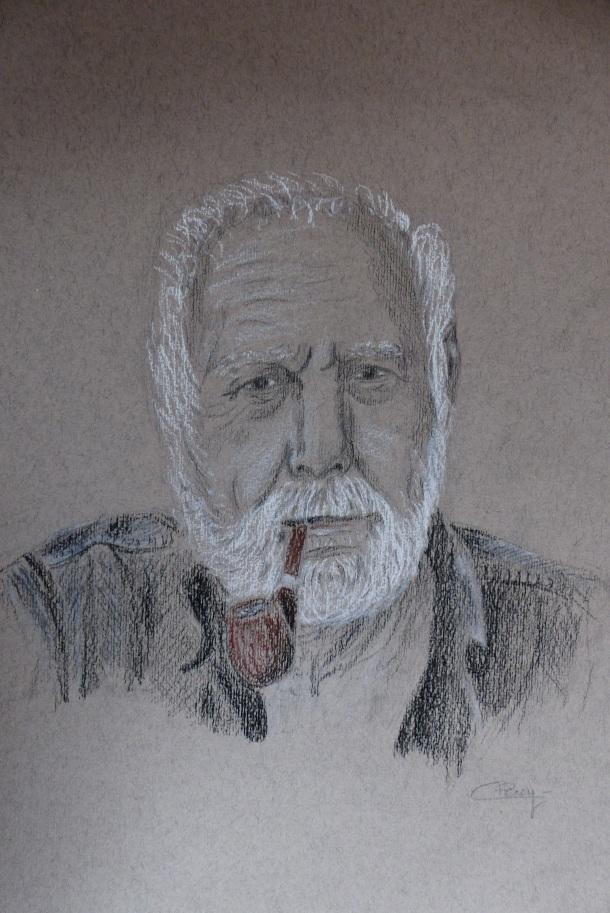 Portrait McGregor par Camille. Dessin. Projet, Musique, écriture, théatre