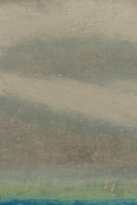 Le ciel en détail. Cinquante nuances de gris... Dessin aux pastels gras, Clément B. Juin 2015.