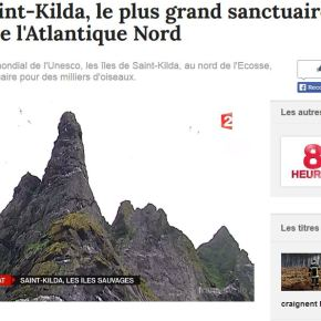 Saint Kilda sur France 2 !