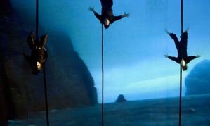 Image extraite de l'opéra-spectacle St Kilda Island of the Birdmen, 2007. Photo : Murdo MacLeod.