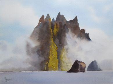 Daisy Stoquart - St Kilda in the mist, vainqueur de l'édition 2016