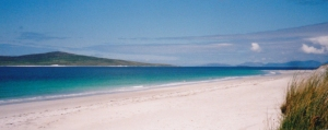 The west coast of Berneray