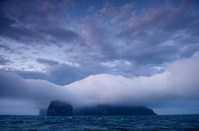 St Kilda in the mist - Photo : John Humphries