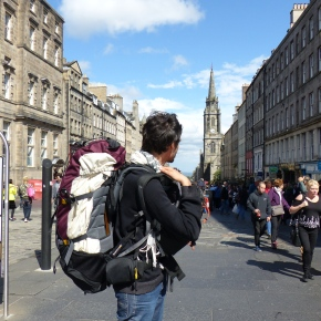 Road trip en Écosse #1 : Flying to Edinburgh