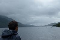Les eaux sombres du Loch Lomond... ©Camille Peney