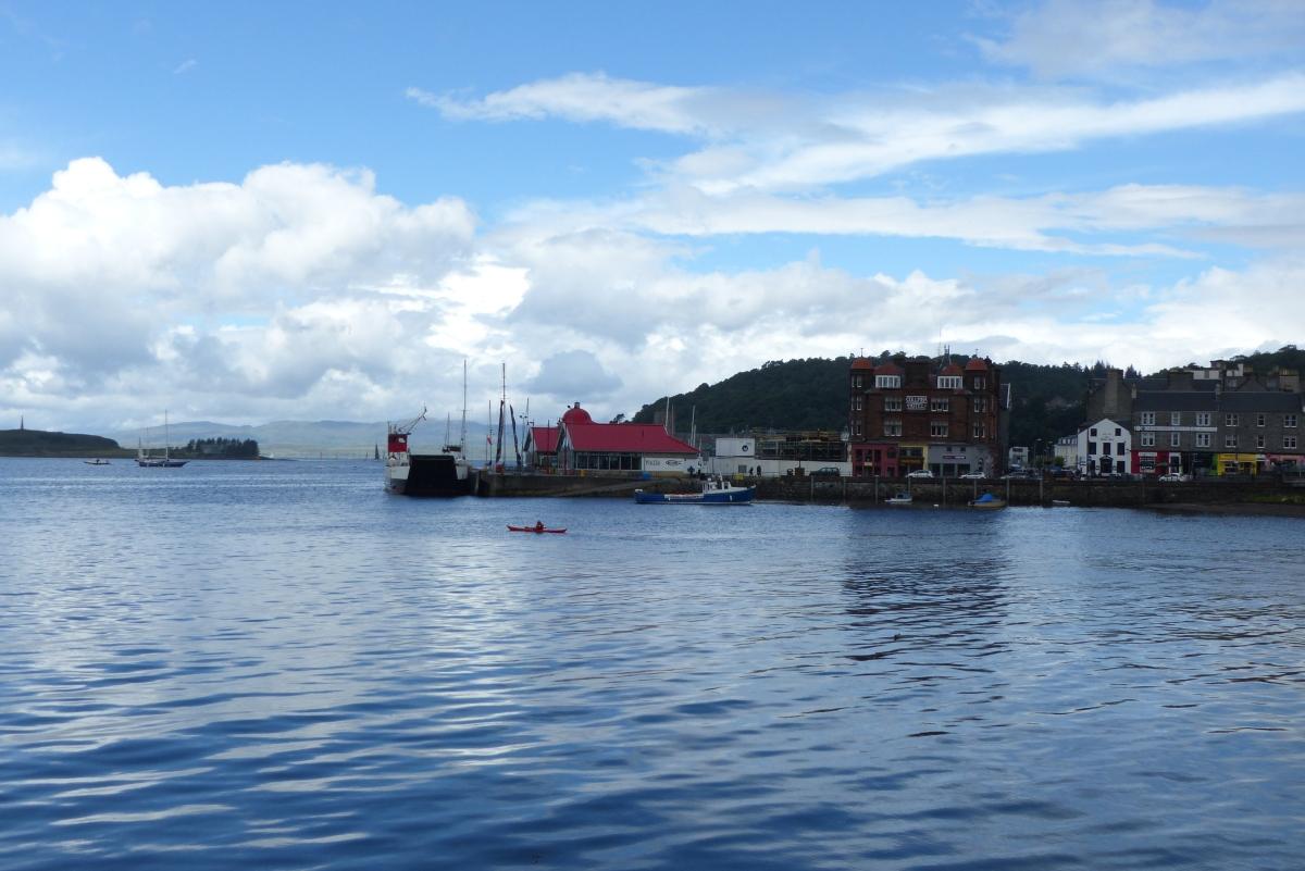 Road trip en Écosse #6 : sur le port d'Oban