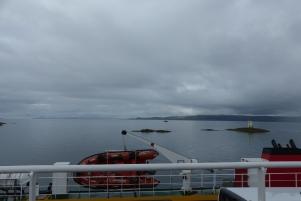 Le ferry prêt à quitter Mallaig ©Camille Peney