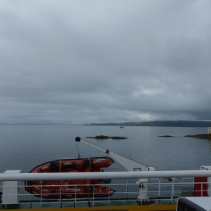 Le ferry prêt à quitter Mallaig ©Camille Peney