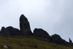 Old Man of Storr, tout proche ! ©Camille Peney