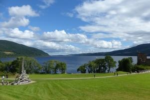 Vue sur le Loch Ness depuis le Castle ©Camille Peney