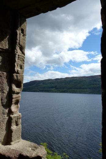 Depuis les fenêtres de Urquhart Castle ©Camille Peney