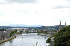 Les deux rives de la ville depuis le château ©Camille Peney