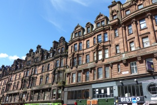 Dans les rues de Glasgow ©Camille Peney