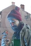 Les murs peints, témoins de la vitalité culturelle de la ville ©Camille Peney