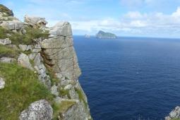 Depuis The Gap, vue magnifique sur Boreray ©Camille Peney
