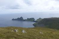 Vue d'ensemble sur la baie et l'île de Dùn ©Camille Peney