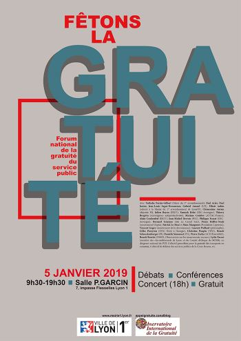 Interventions Poétiques Au Forum De La Gratuité
