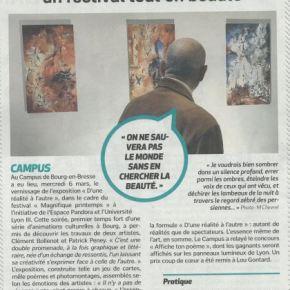 L'exposition «D'une réalité à l'autre» à l'honneur dans La Voix del'Ain