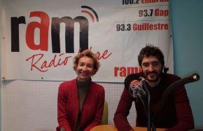 Une émission sur les ondes de la RAM, radio libred'Embrun