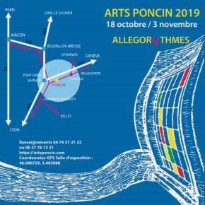 Lecture poétique et musicale au festival Arts Poncin (20 octobre2019)
