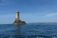 Le phare de la Vieille au large de la pointe du Raz ©Camille Peney