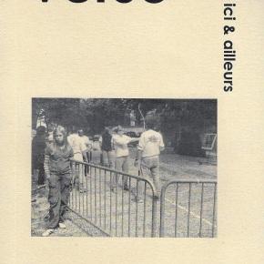 Des poèmes dans Verso (n°179) et Lichen(n°45)